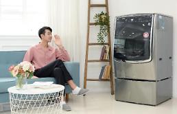 옷 세탁해줘···LG, 음성인식 드럼세탁기 출시