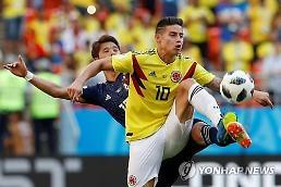[월드컵] 퇴장에 무뎌진 콜롬비아의 창 팔카오·로드리게스·바카