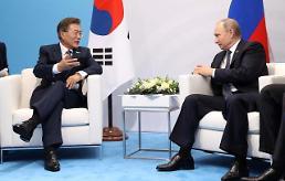 문 대통령, 오늘 푸틴과 정상회담···남북미 3각 협력사업 논의