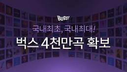 NHN벅스, 4000만곡 음원 확보...고음질 음원 1000만곡 보유