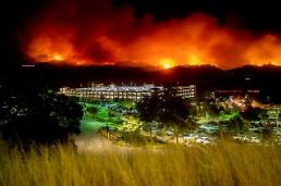 [포토] 미국 산불 스케일