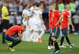 [월드컵] '우승후보' 줄줄이 탈락…스페인도 피하지 못한 '러시아 악몽'