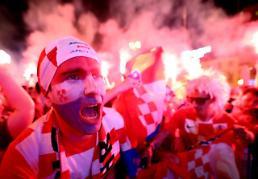 [2018러시아포토] 환호하는 크로아티아