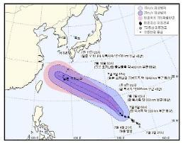 북상 중인 태풍 마리아, 현재(6일) 위치는? 괌-오키나와 영향권