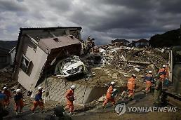 일본 폭우 이어 폭염 주의보...피해 확산에 아베 위기 대응 주목