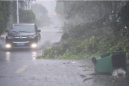 [중국포토] 태풍 마리아 중국 푸젠성 상륙