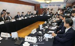 산업통상자원부, 12대 기업 CEO 간담회 개최