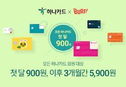 NHN벅스, 하나카드 고객 대상 음악 이용권 할인 이벤트