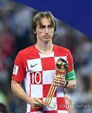 크로아티아 돌풍 이끈 모드리치, 러시아 월드컵 팬투표 1위