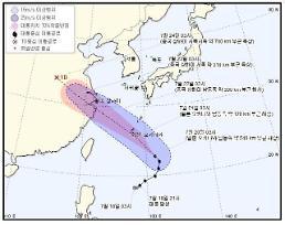 제10호 태풍 암필 현재까지 한반도 영향 無…수증기 유입돼 폭염 가중될 듯