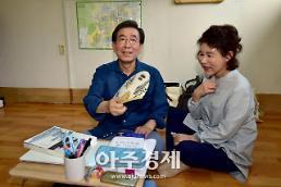 [포토] 박원순 서울시장, 에어컨 없는 옥탑방에서 생활 시작