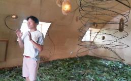 [전시 영상톡]탄약고 정비고를 바꾼 예술 작품..캠프그리브스 DMZ 평화정거장 사업