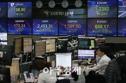코스피, 美中 무역협상 재개 기대감에 상승 출발