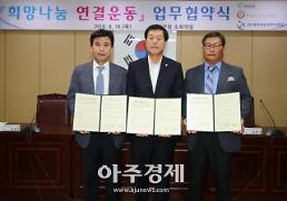 [태안군]희망나눔 연결운동 업무협약