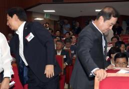 [한국당 의원 연찬회] 김병준 고장난 자동차론에 親朴 운전수 문제