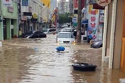 전국에 '물폭탄', 대구·경북지역도 도로 침수 피해…31일까지 비 계속