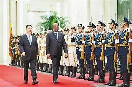 이틀간 18개국 정상과 회담 中 시진핑 아프리카 외교 공들이기