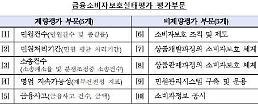SC제일은행·KDB생명·롯데손보 소비자보호 미흡