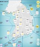 [오늘날씨] 경기 북부 시작으로 전국 비… 최고 150㎜ 예보