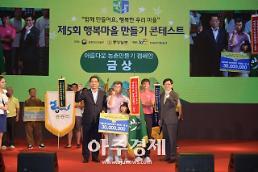 [미래의 농어촌] 농식품부, 제천 도화마을 대통령상…행복한 농촌마을 20개 선정
