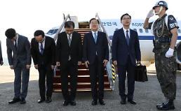 [포토] 대북 특사단, 평양행