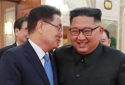 [정의용 특사 일문일답] 김정은 트럼프 첫 임기 내에 적대역사 청산·비핵화 실현 희망