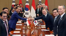 한-인니 정상회담…교역·투자 확대·인프라 분야에 한국기업 진출 지원