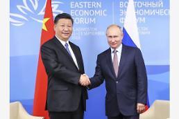 올해만 3번 만난 시진핑-푸틴, 보호무역·북핵 등 한 목소리...군사훈련도 개시
