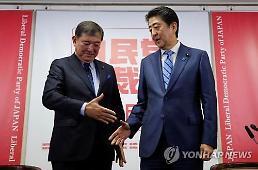 日 최장수 총리 등극 앞둔 아베…김빠진 자민당 총재선거