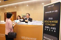 KB국민銀, GOLD&WISE CONCERT 성황리 개최
