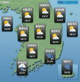 [오늘의 날씨 예보] 전남 남해안·제주도 시간당 50mm 이상 강한 비, 최고 150mm까지