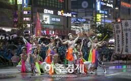[천안시]흥타령춤축제 거리댄스퍼레이드 성료