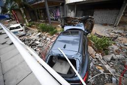 중국 남부 강타한 초강력 태풍 망쿳...4명 사망 1명 실종