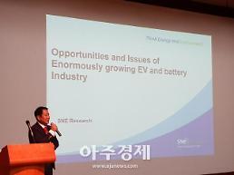 김광주 SNE리서치 대표 韓 배터리 시장, 급속성장할 것
