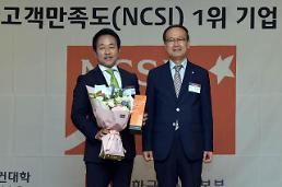 하나투어, 국가고객만족도(NCSI) 5년 연속 1위