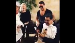 [동영상] 베네수엘라 국민들 굶는데 마두로는 고급 스테이크 먹으며 일생일대 순간