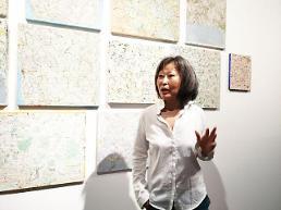 [전시 영상톡]육지에 섬 만든 나만의 세계지도 김순기 개인전 아라리오갤러리 서울 삼청