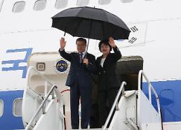 문 대통령, 뉴욕 도착 3박5일 일정 돌입…비핵화 대화 중재 착수
