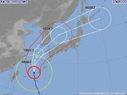태풍 콩레이 경로 보니…일본 기상청 제주도→부산 관통한다