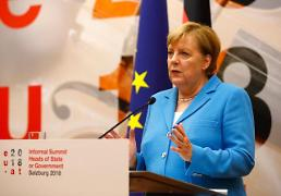 메르켈 독일 총리, 노벨평화상 수상자에 존경심 표해