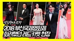 [광화문 비디오방] 화려했던 2018 부산국제영화제 레드카펫 현장