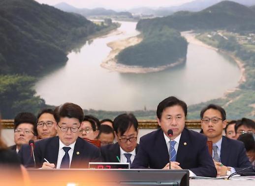 [2018 국감] 김영춘 해수부 장관 3년간 200척 이상 선박 신조 지원 (종합)
