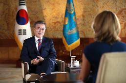 문 대통령, 비핵화 되돌릴 수 없는 상태되면 제재도 완화