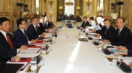 한-프랑스 정상, 한반도 비핵화 CVID 방식으로 이뤄져야 공동선언