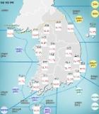일교차 큰 날씨…밤부터 강원‧경북 비소식