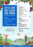 대구 엑스코서 경북 청년농산업 창업박람회 개최