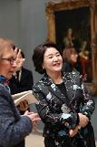 김정숙 여사 세계 주요 미술관·박물관 한국어서비스 확대되길