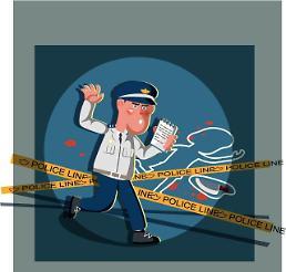 딸 찌르려던 흉기난동 아버지 막다 경찰관 부상