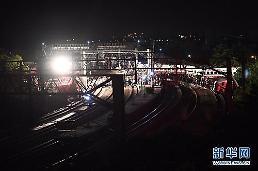 대만, 최악의 열차사고...18명 사망, 171명 부상