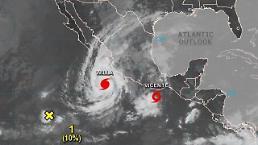 강력한 허리케인 윌라, 멕시코 상륙할 듯…최대 250㎜ 폭우